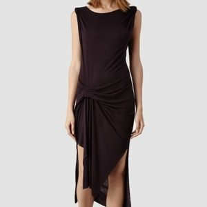 All Saints | Riviera Jersey Dress Size Medium